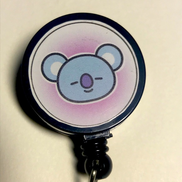 Jigglypuff Badge Reel ID Holder Retractable
